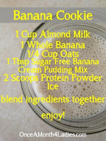 Banana Cookie