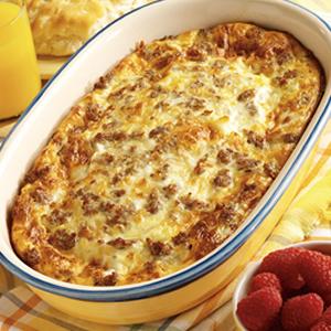 Breakfast Egg Bake - Pinterest