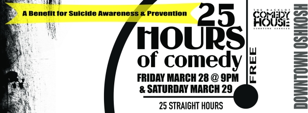 25 Hours of Comedy FB Cover Photo