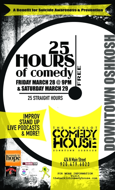 25 Hours of Comedy Poster Final