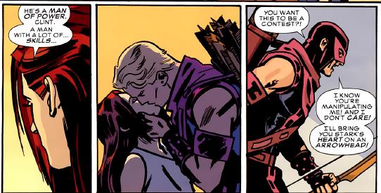 Black Widow & Hawkeye