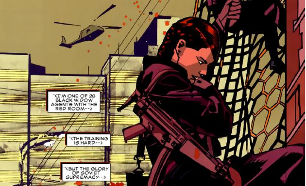 Black Widow - Red Room