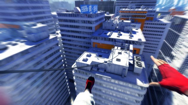 Cityscape - Mirror's Edge