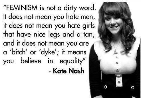 feminism - kate nash